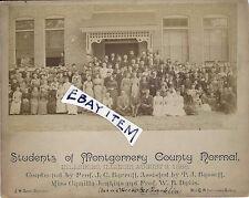 1888 Hillsboro ILLinois Montgomery County Normal School BARRETT BASSETT E STRAIN