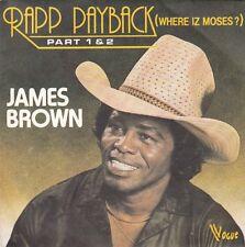 "45 T SP  JAMES BROWN   ""RAPP PAYBACK PART 1 & 2"""