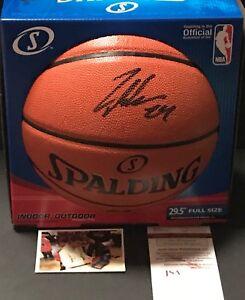 Lauri Markkanen Bulls Autographed Signed NBA Basketball JSA WITNESS COA Black