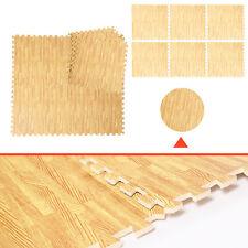 12 Stk.Bodenmatte Schutzmatten Puzzlematte Bodenschutzmatte Spielmatte EVA 60x60