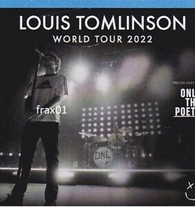 2 Konzert Tickets Louis Tomlinson Köln Palladium 3.4.2022 Karten Stehplätze