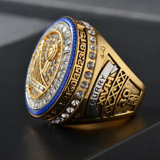 New NBA 2017 World Championship Golden State Warriors Ring USA Replica Curry