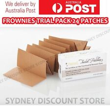 FROWNIES Wrinkle Remover Facial Pads Forehead+Between Eyes TRIAL PACK 24 PATCHES