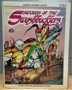 Swords of the Swashbucklers GN (1984 Marvel) 1 - BILL MANTLO - VF/NM