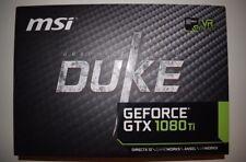 MSI GeForce GTX 1080 Ti DirectX 12 GTX 1080 Ti DUKE 11G OC 11GB 352-Bit GDDR5X