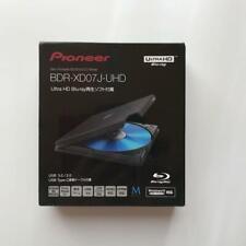 Pioneer BDR-XD07J-UHD Portable Blu-ray Drive Black Win/Mac BDXL USB 3.0 Used DHL