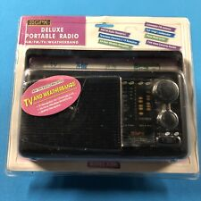 GPX-A350 Portable AM/FM/TV/WeatherBand- Radio-NEW SEALED! D1