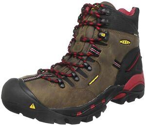 "Mens Keen Pittsburgh 6"" Steel Toe Waterproof Work Boots NEW"