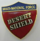 Operation DESERT SHIELD Multi-National Force Hat Pin US ARMY Marines Navy USAF