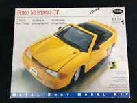 1995 Testors Ford Mustang GT Metal Kit #175 1:24 Complete Snap or Screw No Glue