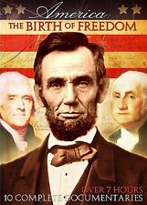 DVD - Documentary - America: The Birth of Freedom - 10 Complete Documentaries