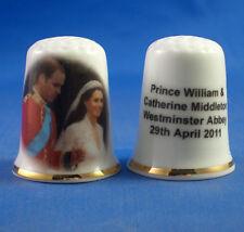 Birchcroft Thimble --  Prince William & Catherine  Wedding with Free Box