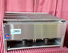 New 24 Lava Rock Char Broiler Lp Propane Grill Burger Bbq Stratus Scb 24 7166