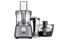 Cuisinart Kitchen Central 3-in1 Blender, Juicer and Food Processor in Gunmetal