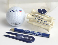 Air France GOLF Set. Ball, Bleistift... Accessory kit: TOP FLITE ball, 6 tees...