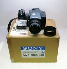 SONY MVC-2000 STILL VIDEO CAMERA, #10003, RARE EARLY PRE-DIGITAL, SHIP WORLDWIDE