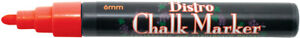 Uchida Bistro Chalk Marker 6mm Bullet Tip-Red, 480-C-2