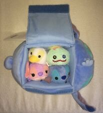 Lilo & Stitch Carrier Bag Mini Tsum Tsum Plush Disney Scrump Ugly Duckling Angel