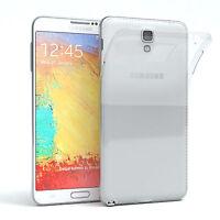 Ultra Slim Cover f. Samsung Galaxy Note 3 Neo TPU Case Silikon Hülle Transparent