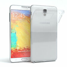 Ultra Slim Cover f. Samsung Galaxy Note 3 Neo TPU Case Silikon Hülle Transparent