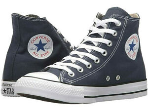 Authentic Converse All Star Hi /  NAVY  / Reg Price $60 / New In Box