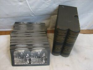 Keystone V 7/8 Stereographic Library Visual Education Real Photo Stereoview Card