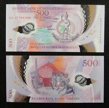 Vanuatu Polymer Banknote 500 Vatu 2017 UNC