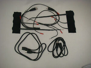 TWO (2) COMPLETE NEW HEADSET KITS FOR HONDA GOLDWING MOTORCYCLE INTERCOM