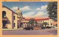 Postcard Pima County Court House Tucson AZ