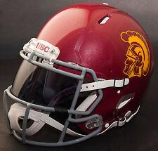 *CUSTOM* USC TROJANS NCAA Riddell SPEED Full Size Replica Football Helmet