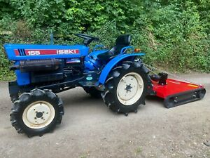 ISEKI 155 4WD Compact Tractor & New Topper Mower *** NICE TRACTOR ***
