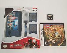 Nintendo DS Bundle Lot of 2 Lego Star Wars the Complete Saga & Indiana Jones 2