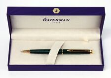 Waterman Hemisphere Ballpoint Pen Marble Green Gift Boxed New NO RESERVE