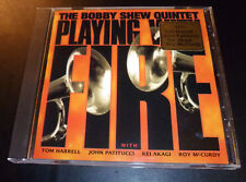 "BOBBY SHEW QUINTET ""Playing With Fire"" (CD 2007) Harrell/Patitucci **EXCELLENT**"