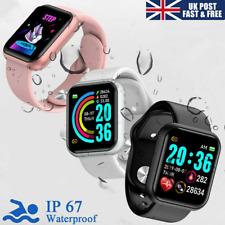 Banda de reloj Inteligente Actividad Deportiva Fitness Tracker Para Niños Fit Bit Android IOS UK