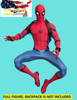 """1/6 Scale Spider man action figure 12"""" toy Hot Tom Holland Custom ❶USA IN STOCK❶"""