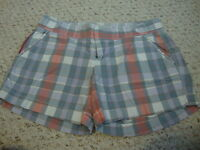 Women's OLD NAVY plaid shorts, 4