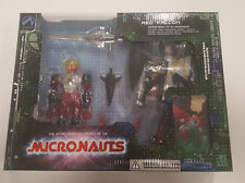 Micronauts Red Falcon Red and Black and Clear Version Palisades MIB
