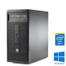 HP 280 G1 PC Intel Core i3 3.60GHz 4th Gen 4GB RAM 500GB HDD Windows 10 Pro