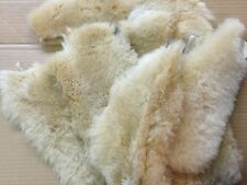 2 Tan Merino Sheepskin Pads Shoe Inserts Reline UGGs Slippers Boots Insoles