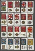 1928 Wills's Cigarettes Regimental Standards Tobacco Cards Complete Set of 50