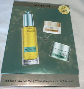 NIB $211 ALGENIST It's the Glow for Me kit Collagen, eye balm, anti age cream