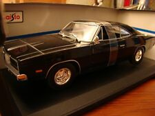 1/18 Dodge Charger R/T V8 Coupe 1969 Black Rare New with Box