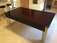 **SUPERPOOL** The FUSION POOL DINER TABLE with GLASS DINING TOPS