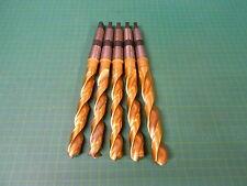 5 x TITEX Spiralbohrer A4211 TIN / Ø 15,5 (3x)-17,0-18,0 mm  / MK 2