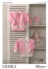 Double tricot motif Cardigans Laine Chapeau prématuré de 12 mois baby 31-51 cm