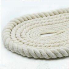 Baumwollseil Meterware Wäscheleine Tau Seil Ø5mm-30mm (1,00?-4,70?/m) weiß