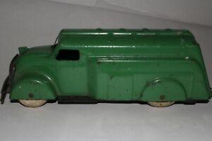 1930's Wyandotte Toys, Pressed Steel Gasoline Tank Truck, Original
