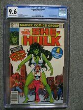 Savage She-Hulk #1 - CGC 9.6 - Soon to be on Disney Plus + - Stan Lee Story