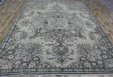 OVERDYED PERSIAN TABRIZ CARPET 11 X 8 FT HAND KNOTTED PERSIAN CARPET